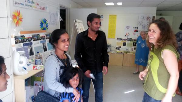 Rencontres avec les parents des enfants à la Maison de la paix