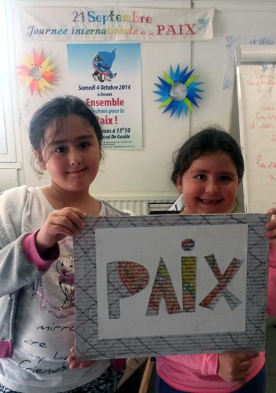 """Atelier """"Art et paix"""" à la Maison de la Paix"""