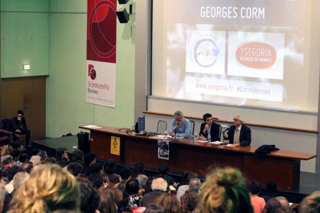 Conférence de George Corm à Rennes