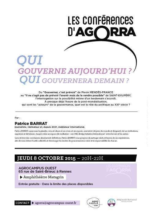 8 octobre 2015 agora agrocampus Rennes
