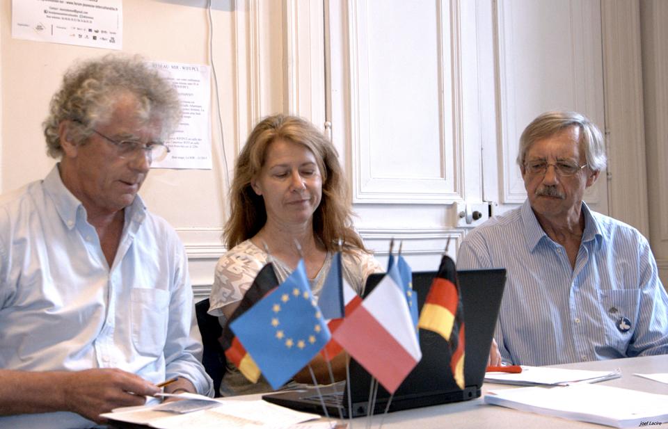 Déclaration commune de L'Alliance pour la Paix d'Erlangen et du Mouvement de la Paix de Rennes