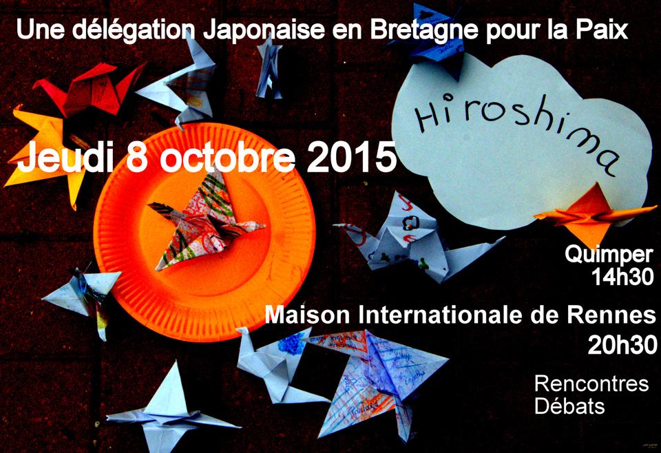 délégation Japonaise en Bretagne