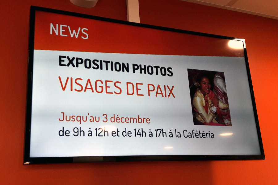 Expo photos Visages de Paix