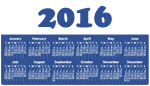 calendrier 2016 de Tout Rennes Cultive la Paix