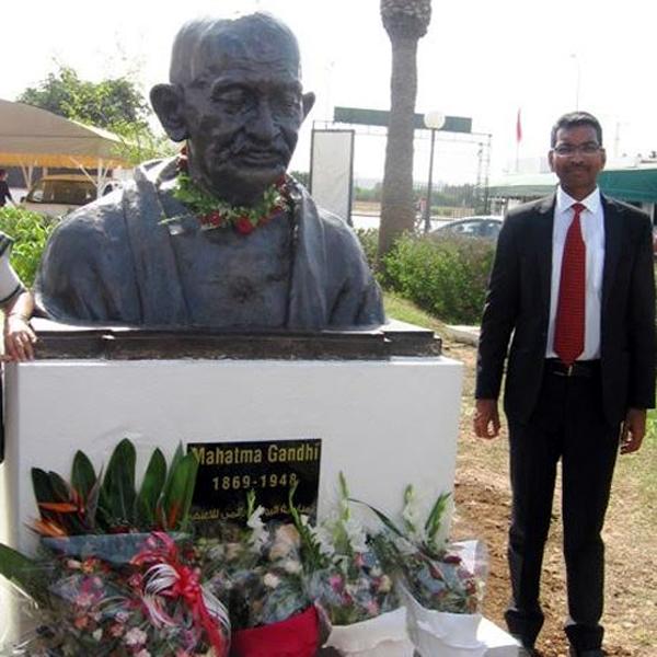 L'ambassadeur de l'Inde à Manouba