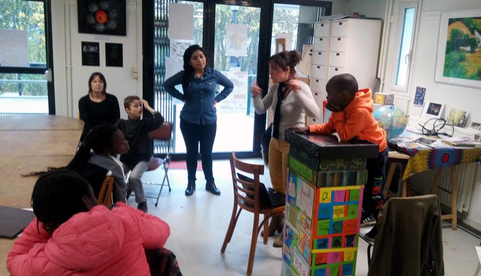 Atelier des enfants du mercredi 16 novembre 2016