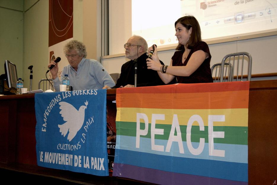 conférence débat d'Alain Chouet à Sciences Po Rennes