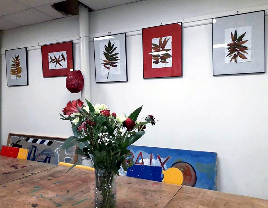Exposition à l'Atelier Paix et Non-Violence