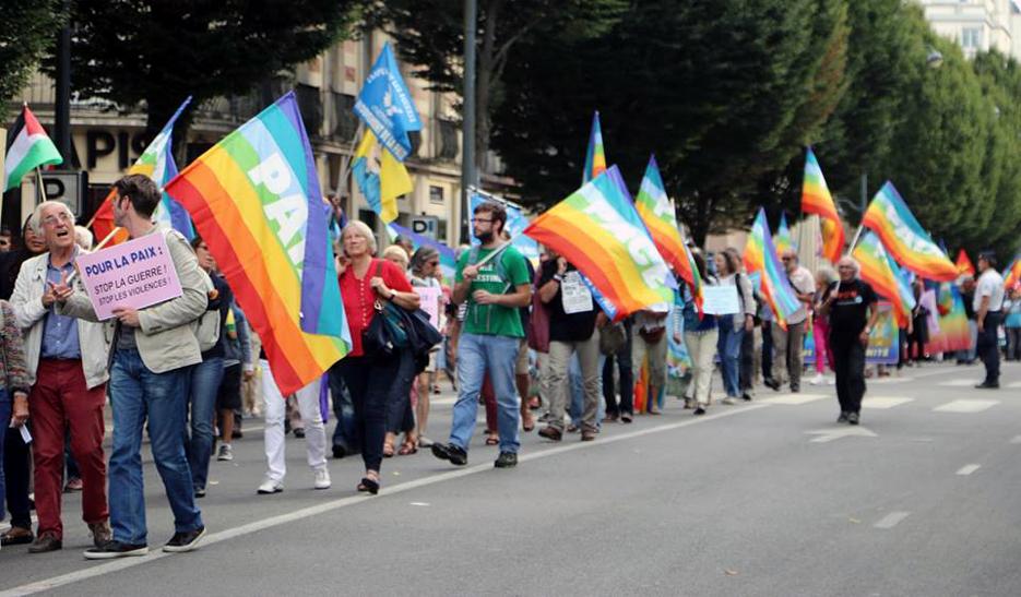 marche pour la paix Rennes 2016