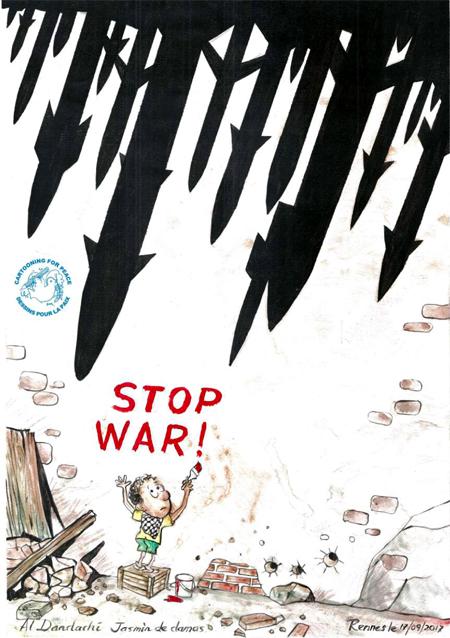 Jasmine de Damas - Stop war